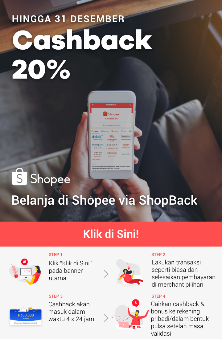 Promo Caping Shopee