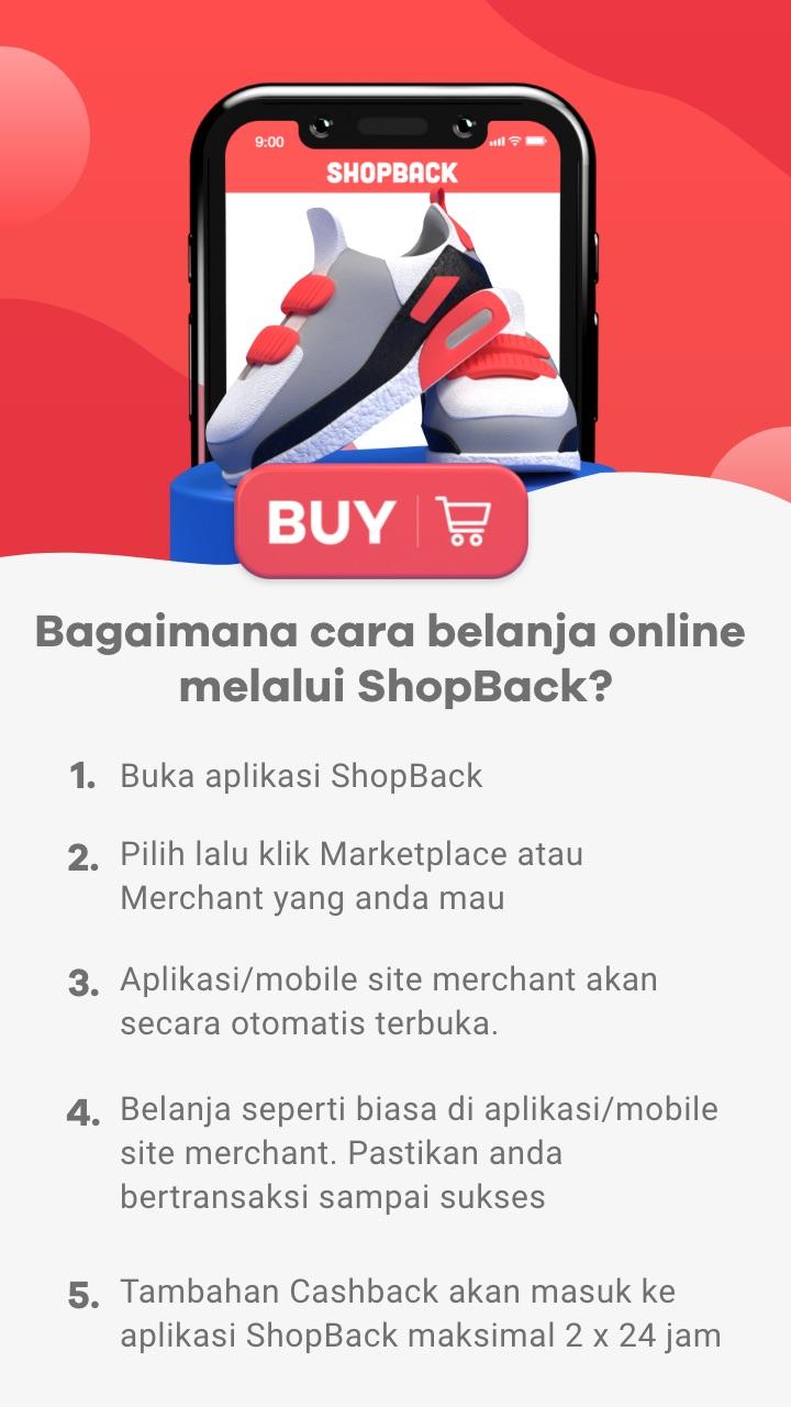 Cara belanja melalui ShopBack