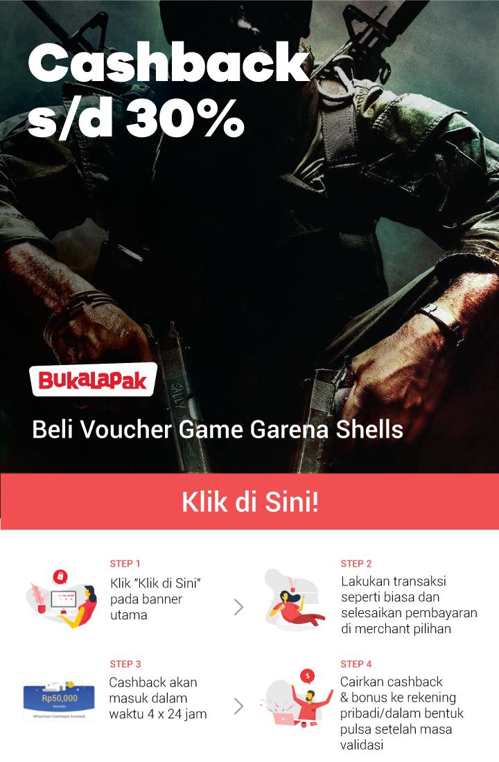 Promo Garena Shells