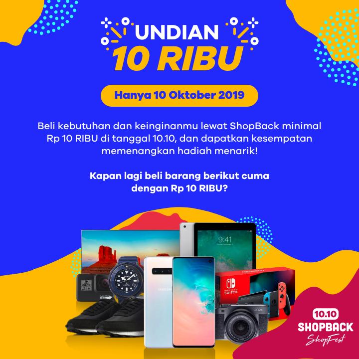 Undian 10 RIBU - ShopFest 10.10
