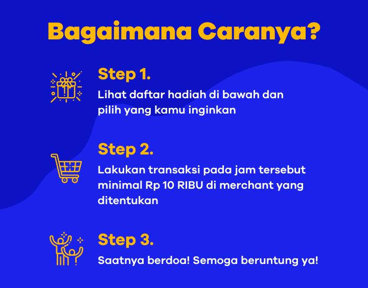 Cara ikut Undian 10 RIBU - ShopFest 10.10