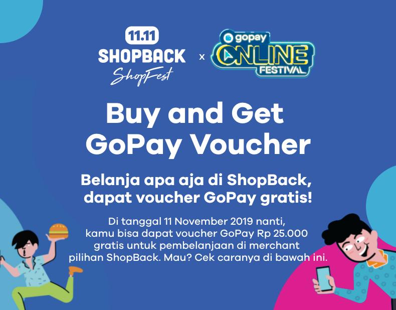 Promo GoPay Online Festival