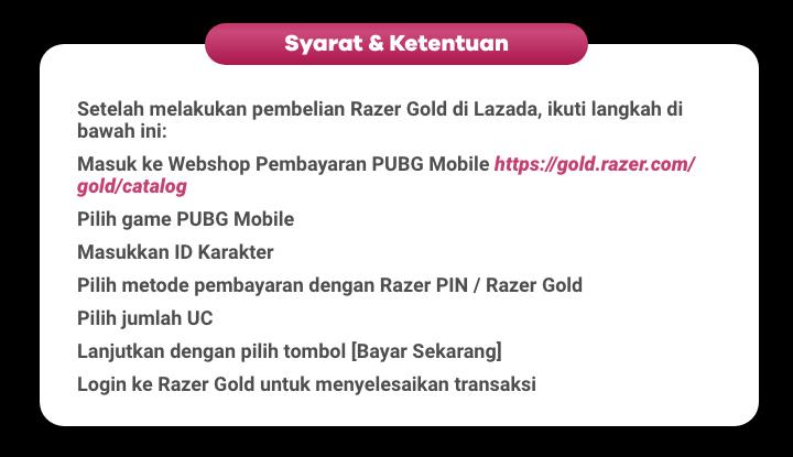 ShopBack Razer Gold