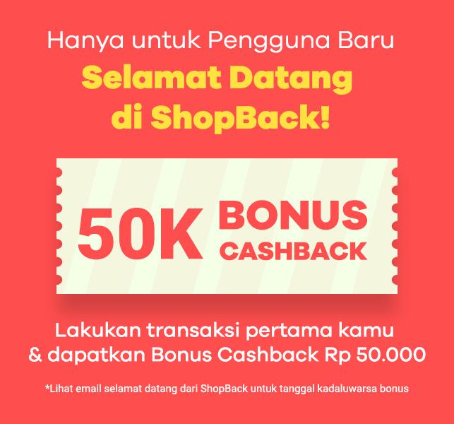 Bonus Cashback 50K