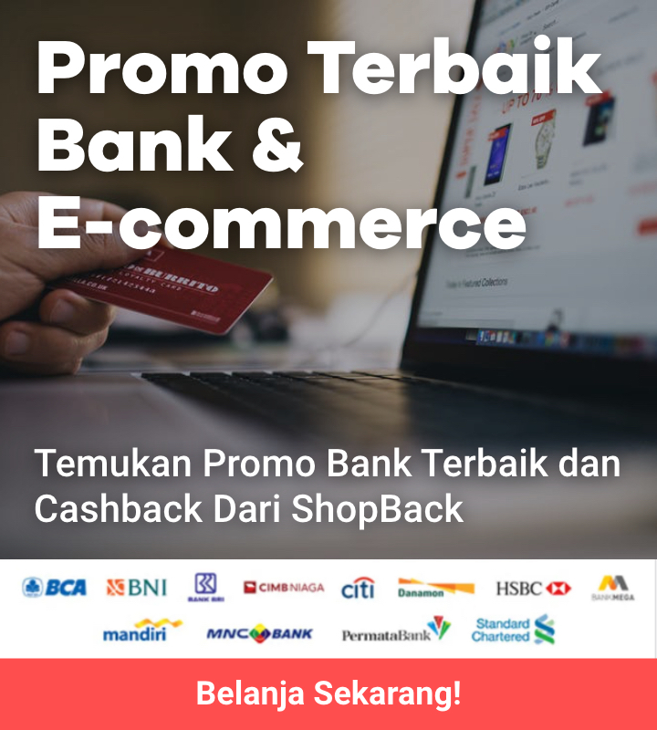 Promo Bank + Cashback di 100 + E-Commerce