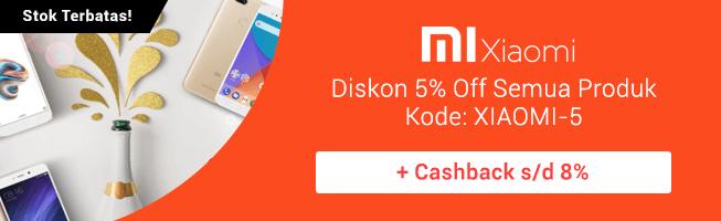 Blibli Diskon Xiaomi
