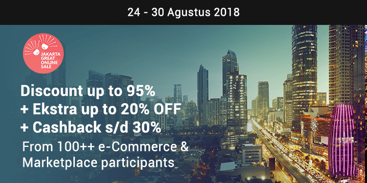 Jakarta Great Online Sale