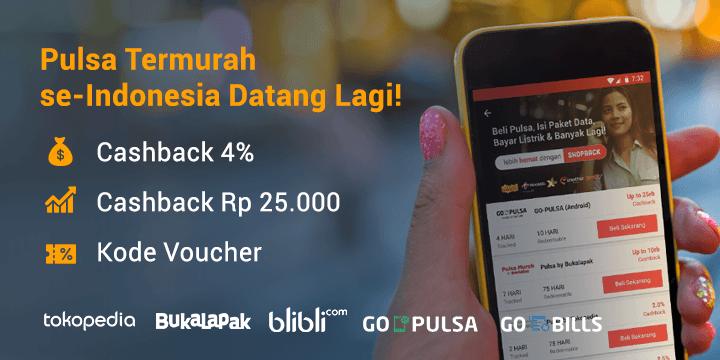 Promo Pulsa Murah Online