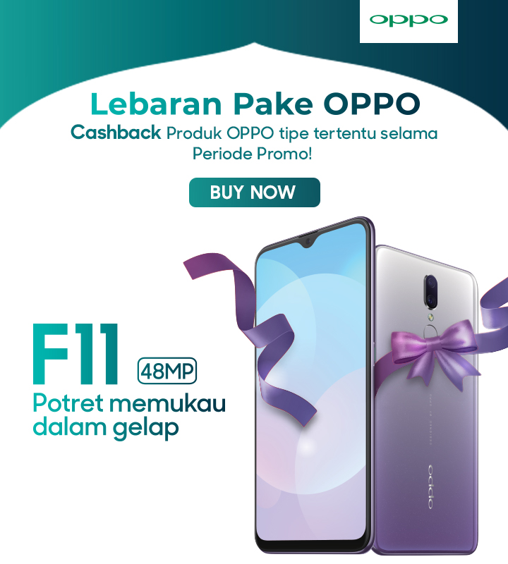 Promo Oppo F11