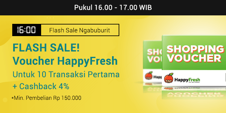 Promo Flash Sale Ngabuburit