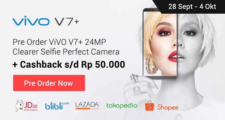 Promo Vivo V7+