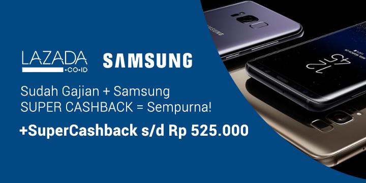 Super Cashback Samsung