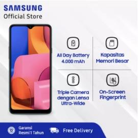 Samsung Galaxy A20s - 4GB/64GB - 13MP - Snapdragon 450