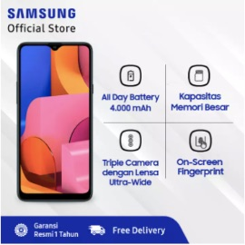 Samsung Galaxy A20s - 3GB/32GB - 13MP - Snapdragon 450