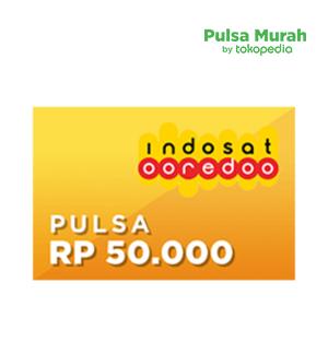 Pulsa Indosat Rp 50.000