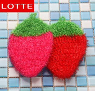 Scrub Sponge Strawberry