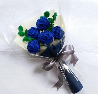 Bouquet Bunga Flanel