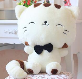 Boneka Kucing Putih 45cm