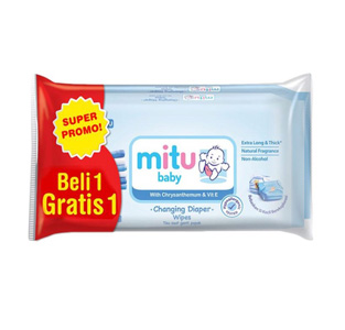 Mitu Baby Wipes Blue