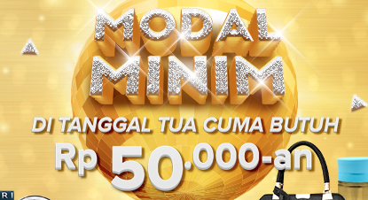 Modal Minim: Tanggal Tua Cuma Butuh Rp 50.000-an