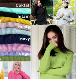Oneck Sweater