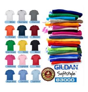 Kaos Gildan Softstyle