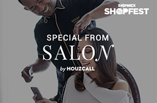 Promo Salon by Houzcall IDR 75.000 OFF