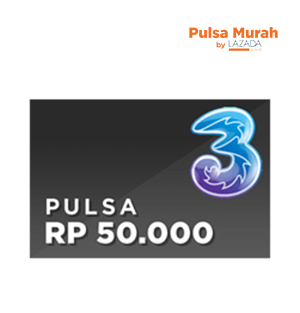Pulsa Tri 50K