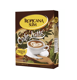 Tropicana Slim Cafe Latte (5 boxes)