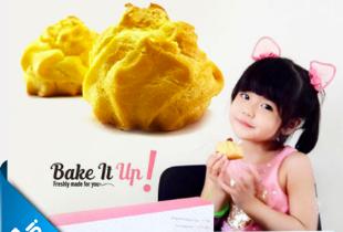 Paket Pilihan Rasa kue Sus di Bake IT Up Rp 270.000