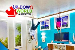 Upside Down World Alam Sutera Jakarta Rp 39.000