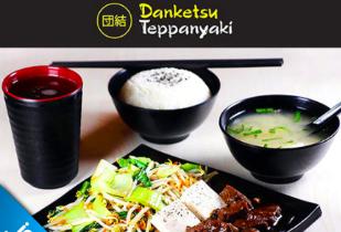 Paket Menu Wagyu Teppanyaki dari Danketsu Teppanyaki Rp 59.000