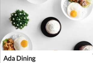 Most Booked: Ada Dining - Diskon 50% Off