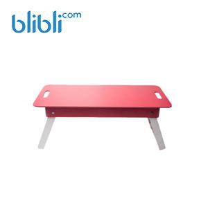 Meja Lipat - Merah