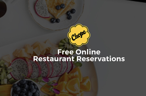 Download Chope App Now to avail the promo - Discount Rp 100.000