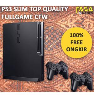 PS3 Slim 500GB + 2 Stick