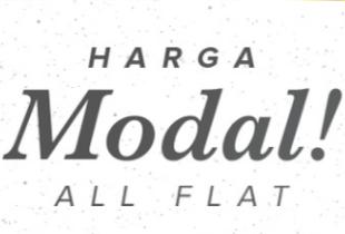 Harga Modal! All Flat Rp 12.000 | Rp 120.000 | Rp 1.200.000