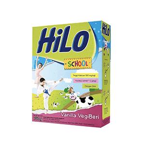HiLo School Vanilla Vegiberi 750g