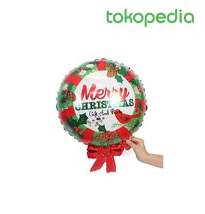 Balon Foil Merry Christmas