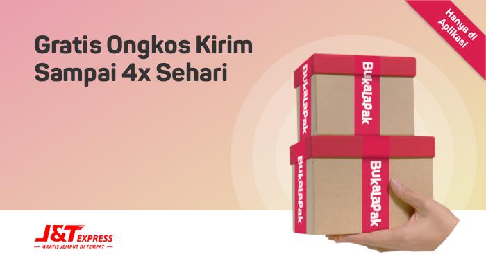 Belanja Gratis Ongkos Kirim dengan J&T Express