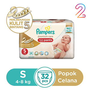 Pampers Pants S-32