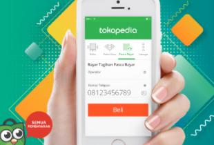Cashback 20% Hingga Rp 20.000 untuk Produk Digital Tokopedia