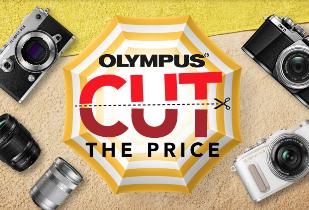 Olympus Cut The Price Disc. Rp 400.000 Free Voucher TIket Pesawat Rp 100.000