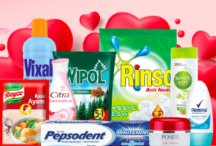 Unilever Love Sale Disc. Up To 35%