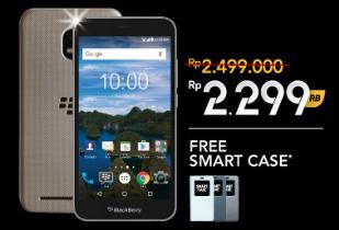 BlackBerry Official Store Promo: BB Aurora Extra Diskon Rp 200.000 + Free Smart Case