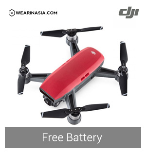 Combo Lave Red Free Battery