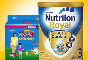 Promo JD.ID - Joy Baby Corner: Semua Kebutuhan Ibu & Anak Mulai Dari Rp 9.000