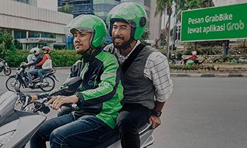 Promo Grab Bike 60% Spesial Bayar Pakai Kartu Kredit