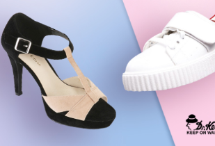 Female Shoes Disc. Up to 70% + Potongan Rp 50.000