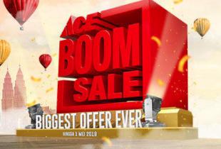 Promo ACE Hardware: Boom Sale 2018! Beli 1 Gratis 1, Diskon s/d 50%